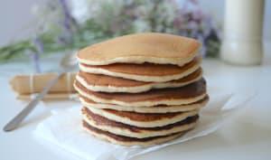 Pancakes fluffy à la compote de pomme