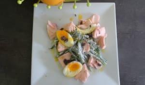 Salade niçoise au saumon
