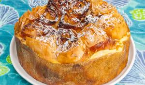 Ruffled Yogourt pie