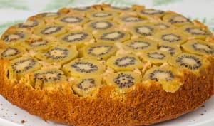 Gâteau renversé aux kiwis