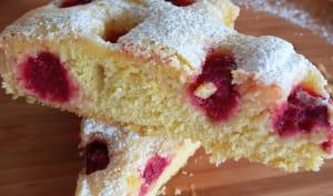 Gâteau à la framboise