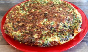 Verts de blettes en omelette