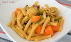 Macaronis arabes façon grand-mère aux supions