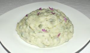Purée de pommes de terre aux 2 orties