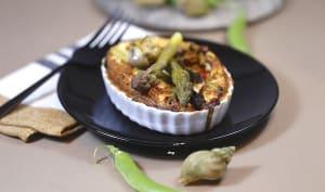 Tartelettes aux bulots asperges et petits pois