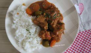 Sauté de veau aux carottes et porto