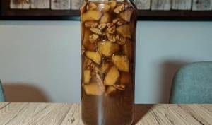 Rhum arrangé pomme noix de pécan