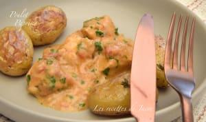 Blancs de poulet au paprika et ses petites pommes de terre au four
