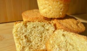 Muffins à l'okara d'amande