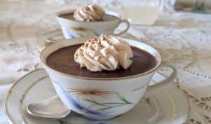 Crèmes chocolat marron