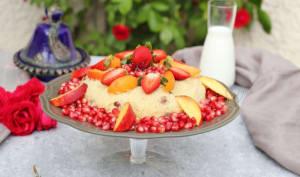 Mesfouf aux fruits