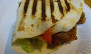 Wrap Hack ou tortilla garnie grillée