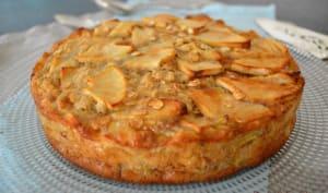 Gâteau léger aux pommes et aux flocons d'avoine