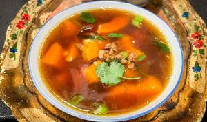 Soupe de courge à la vietnamienne