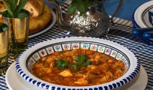 Chorba algérienne au poulet et vermicelles