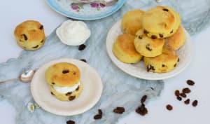 Scones aux raisins