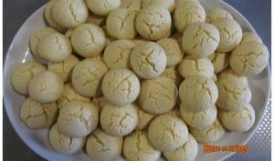 Biscuits friables à la fécule