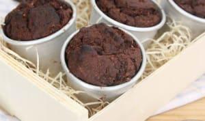 Muffins au chocolat et cerises amarena