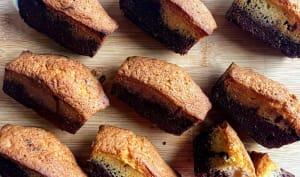 Mini-marbrés au chocolat