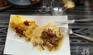 Filet mignon à la moutarde et aux champignons