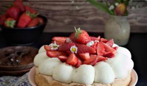 La dacquoise aux fraises