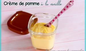 Crème de pomme à la vanille