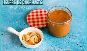 Beurre de cacahuète maison
