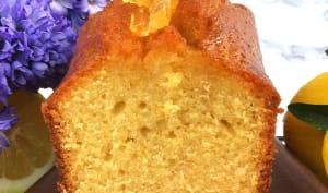 Cake au citron et huile d'olive