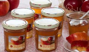 Gelée aux épluchures de pommes, cidre et cannelle