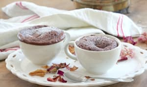 Mugcake chocolat et noisette