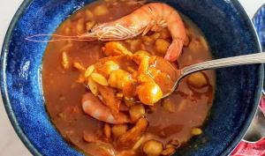 Chorba aux crevettes
