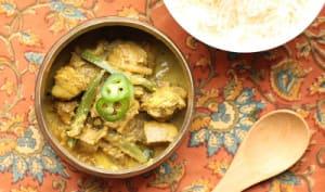 Curry de poisson au cumin et au vadouvan