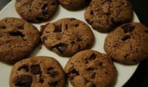 Cookies aux pépites de chocolat et beurre de cacahuète