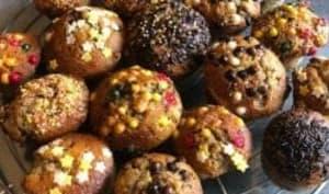 Muffins moelleux à la banane et pépites de chocolat