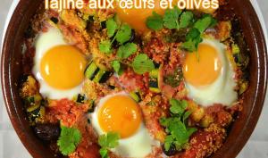 Tajine aux œufs et olives