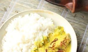 Curry indonésien de fruit de jacquier jeune