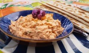 Rillettes thon et fromage frais