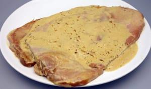 Jambon braisé au cidre
