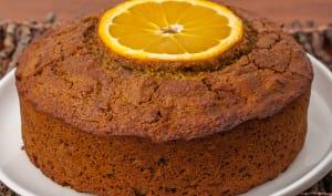 Gâteau à la farine de noisettes et aux agrumes