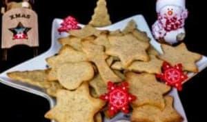 Petits biscuits au miel et 4 épices