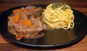 Rôti de hachis de bœuf aux légumes