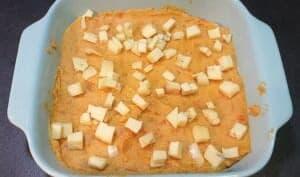 Gratin de patates douces et carottes