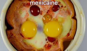 Œufs cocottes en tortilla mexicaine