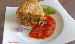 Charlotte italienne aux pâtes