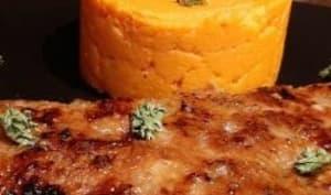 Foie de veau et purée de patates douces
