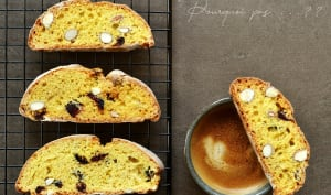 Cantucci amandes canneberges