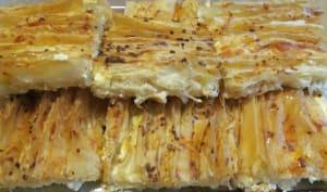 Tarte ébouriffée aux 3 fromages, à la pâte filo
