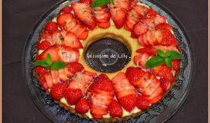 Couronne aux fraises