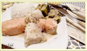 Tajine de poissons au curry