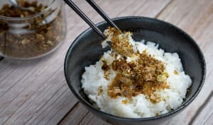 Condiment pour riz japonais
